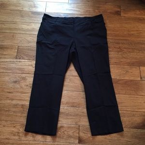 Lane Bryant Black Stretchy Work Pant